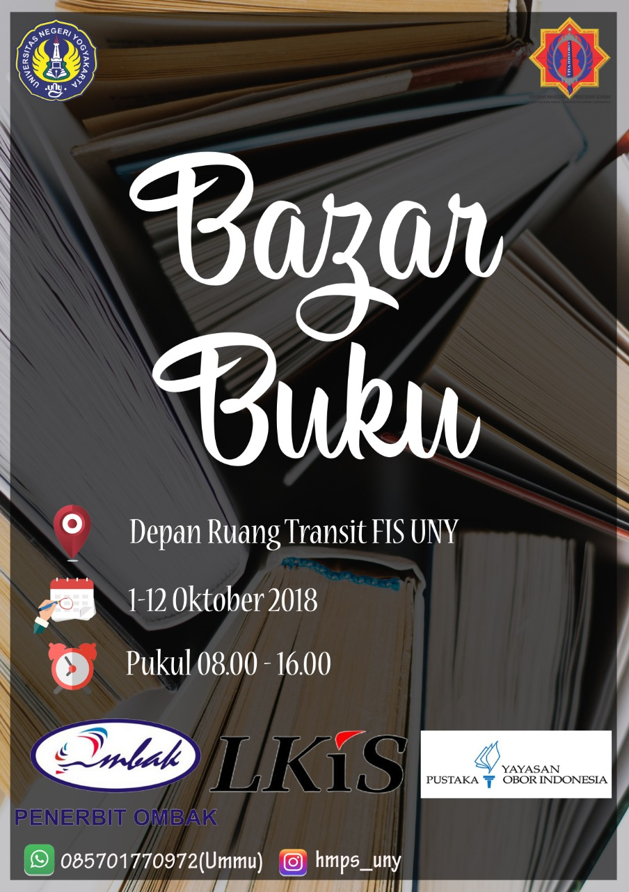 Bazar Buku HMPS #2